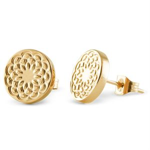 Picture of Gold Flower Studs